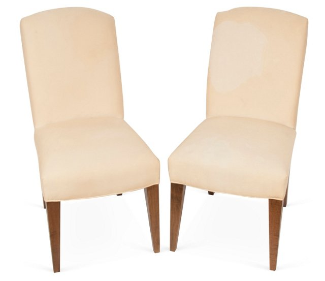 Upholstered Side Chairs, Pair II