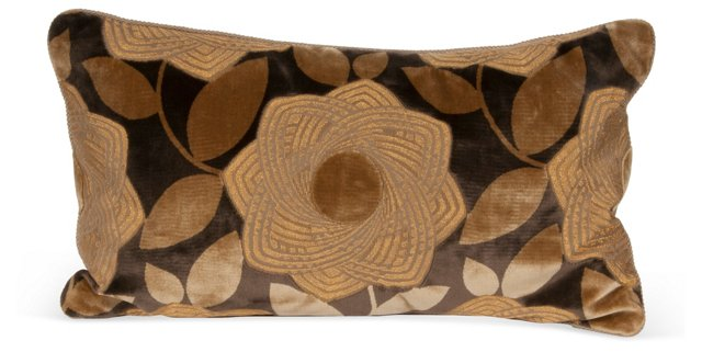 Floral Accent Pillow II
