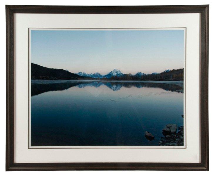 Large Framed Landscape Print