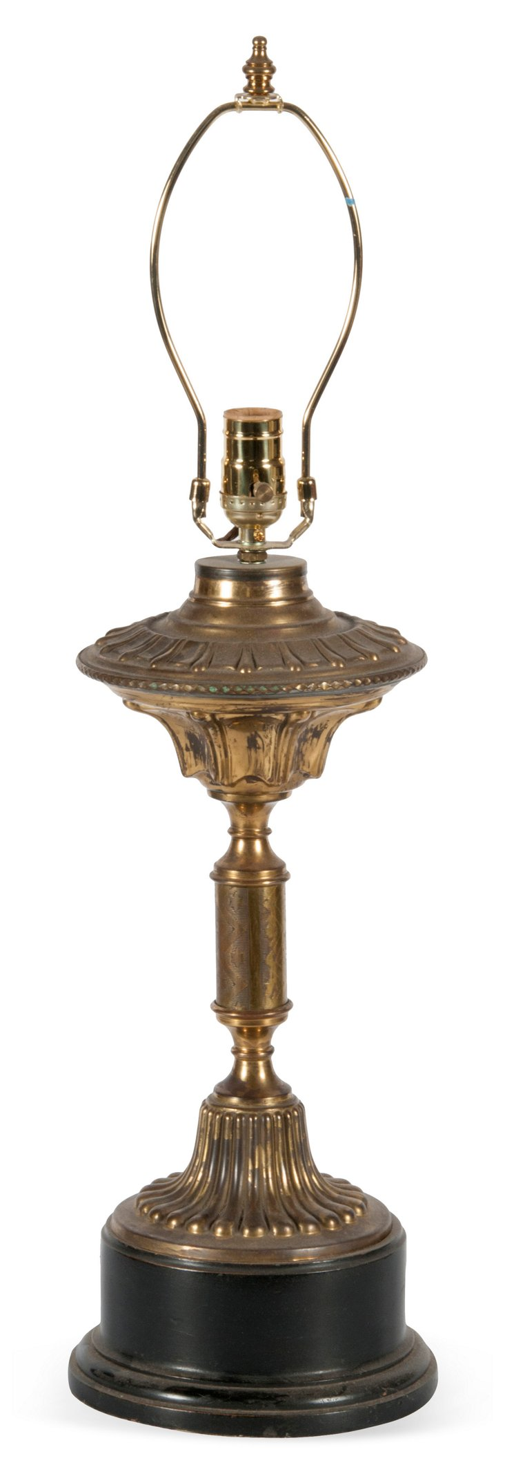 French Gold Metal Lamp