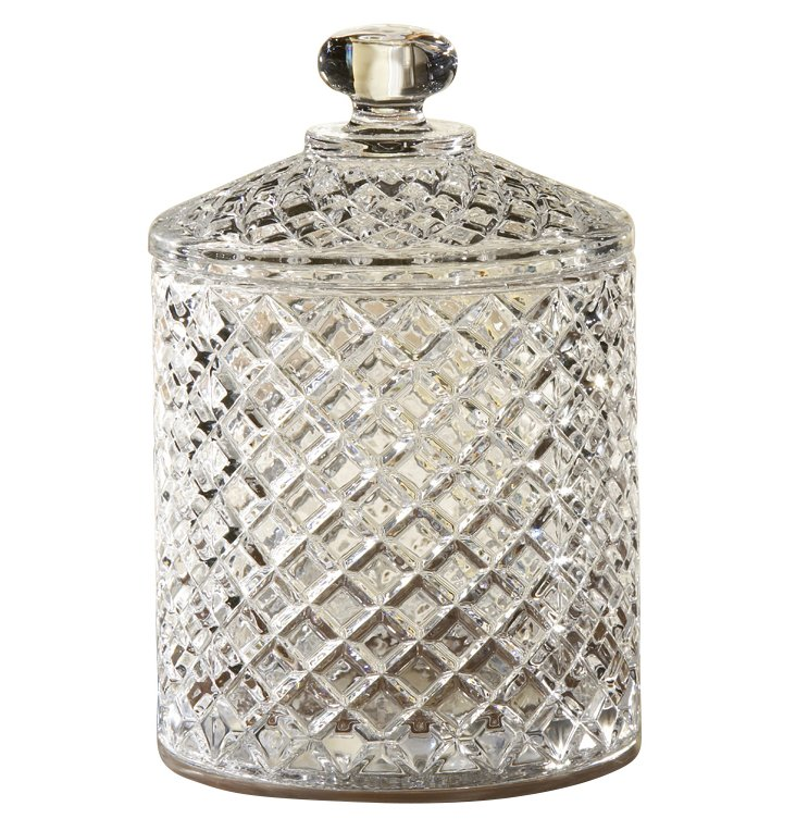 Muirfield Jar w/ Lid