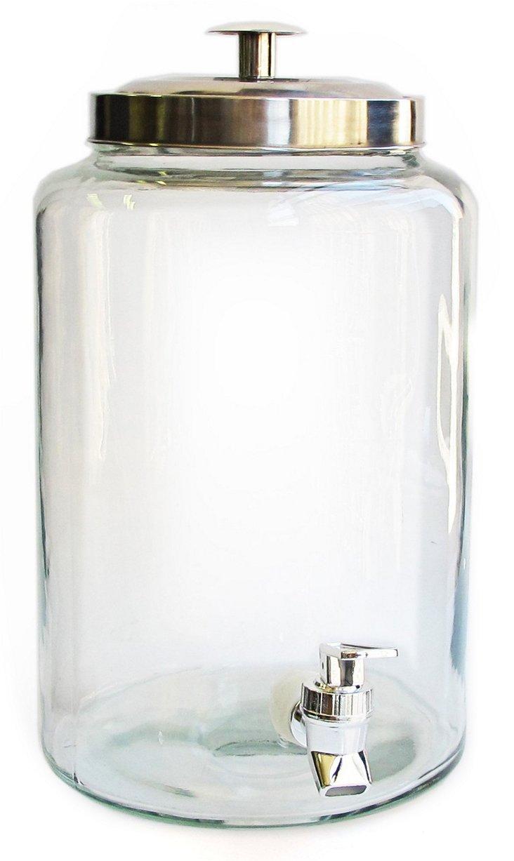 Beverage Dispenser, Clear