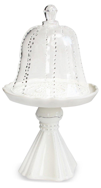 Gabrielle Pedestal Cupcake Plate w/ Dome