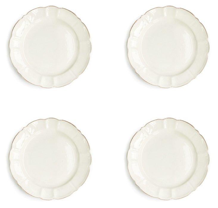 S/4 Italia Scallop Salad Plates