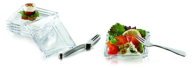 25-Pc Taster Plate Set