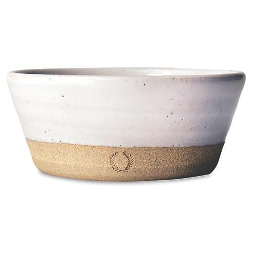 Silo Bowl, Natural/White