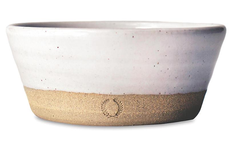 Silo Bowl, Natural/White
