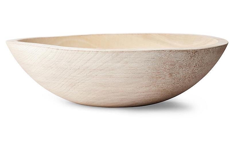 Peasant Bowl, White