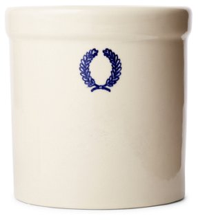 Laurel Jar, White