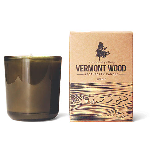 Vermont Wood Candle, Birch