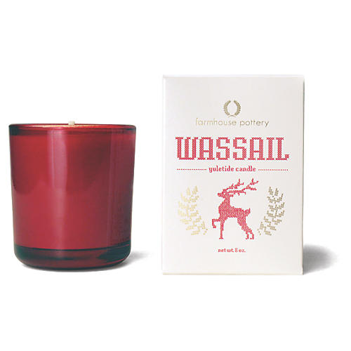 Yuletide Candle, Wassail