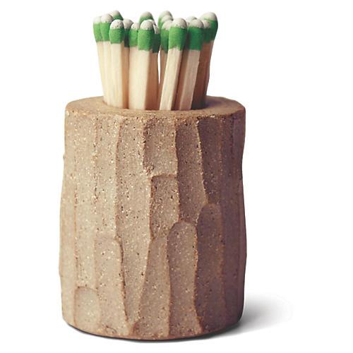 """2"""" Log Match Striker, Natural"""