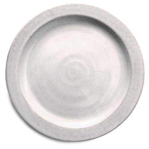 Silo Salad Plate, White