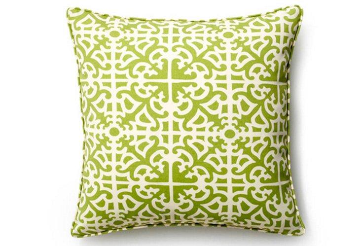 Malibu 20x20 Outdoor Pillow, Celery