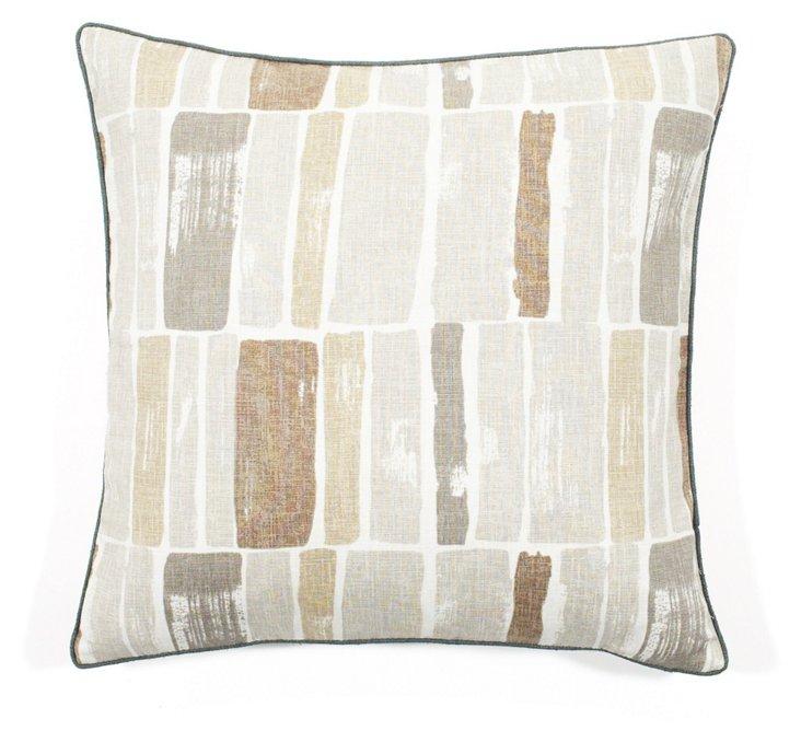 Martin Wall 20x20 Pillow, Gray
