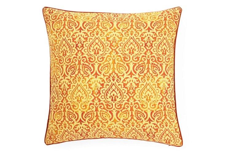 Jaipur 20x20 Outdoor Pillow, Orange