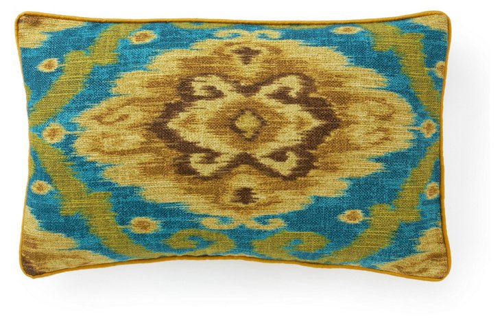 Kyllini 12x20 Cotton Pillow, Jade