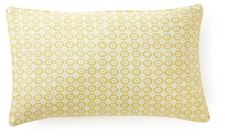 Diana 12x20 Pillow, Lemon