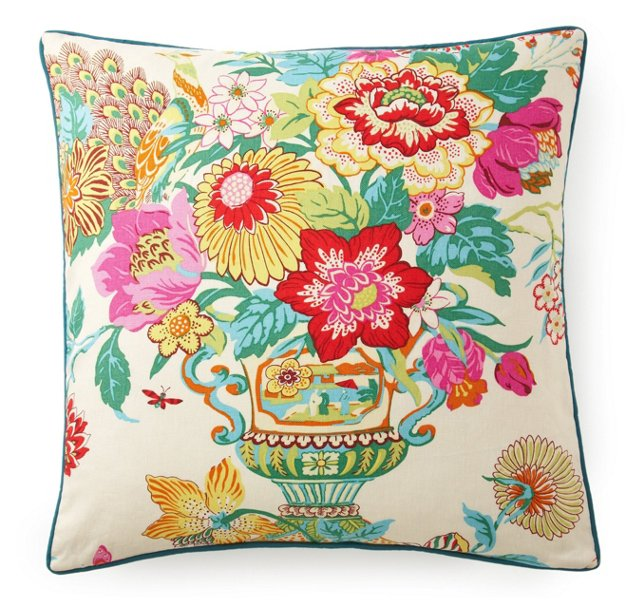 Royalty 24x24 Pillow, Multi