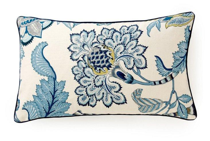 Lorax 12x20 Cotton Pillow, Blue
