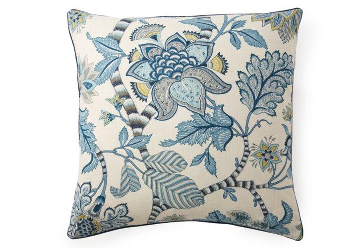 Lorax 24x24 Pillow, Blue