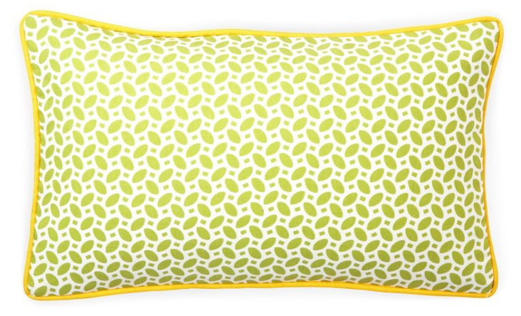 Pik Pak 12x20 Outdoor Pillow, Green