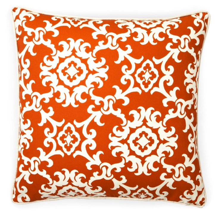 Alvin 20x20 Pillow, Red