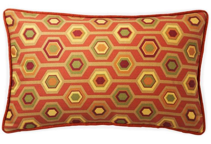 Recoleta 12x20 Outdoor Pillow, Orange