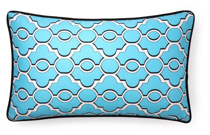 Monterey 12x20 Outdoor Pillow, Blue