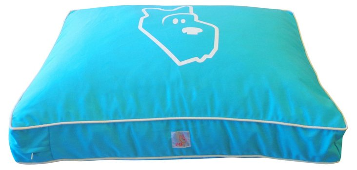 Pet Bed, Turquoise