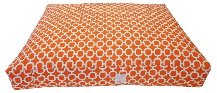 Blocks Pet Bed, Orange