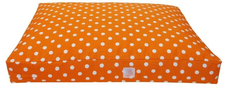 Whales Pet Bed, Orange