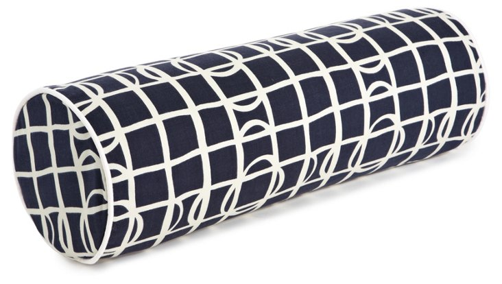 Sonar 7x21 Cotton Pillow, Navy