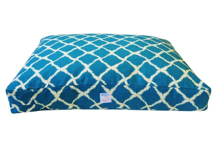 Fish Net Pet Bed, Teal