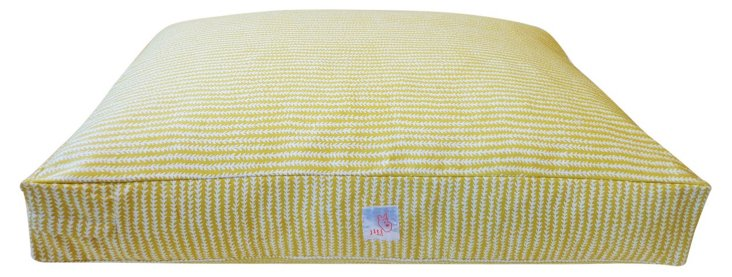 Stitches Pet Bed, Chartreuse