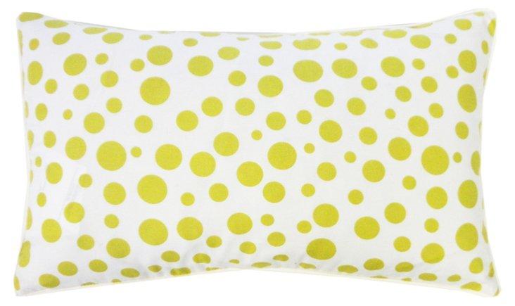 Big Small 12x20 Pillow, Green