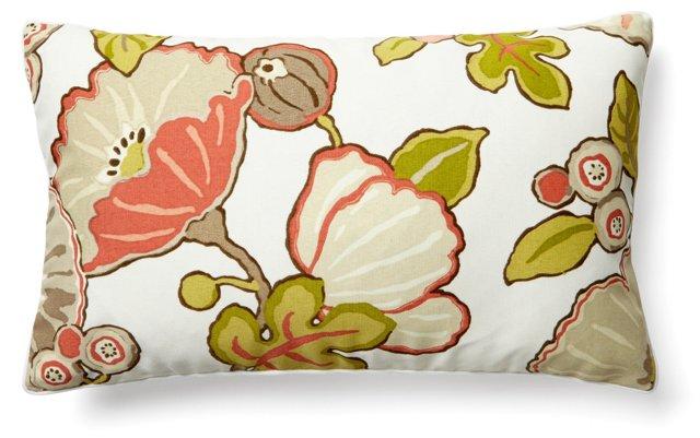 Blooms 12x20 Outdoor Pillow, Multi