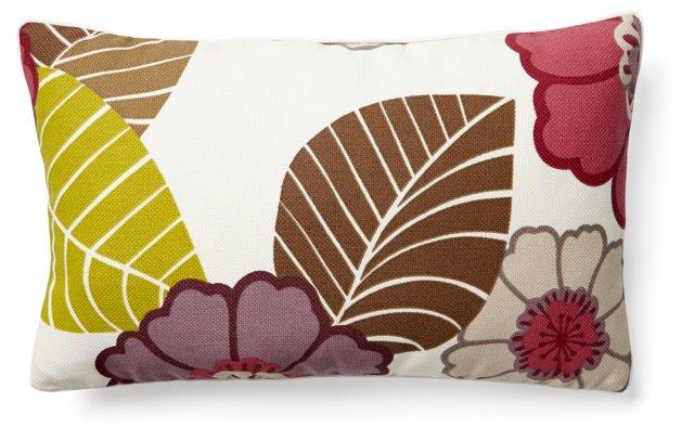 Dahlia 12x20 Pillow, Multi