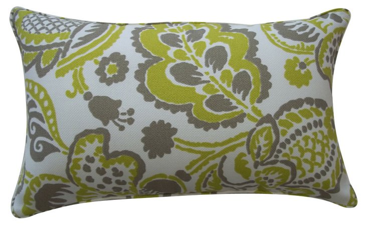 Vital 12x20 Outdoor Pillow, Lime