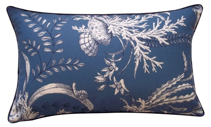 Coastal 12x20 Outdoor Pillow, Blue