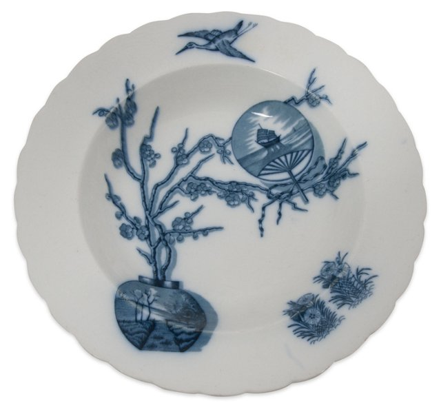 Davenport English Transferware Bowl