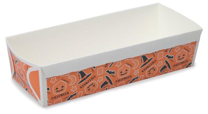 S/40 Paper Halloween Loaf Pans