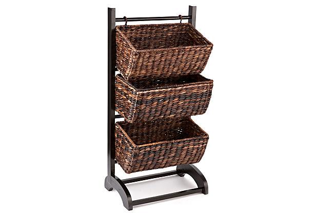 3-Tier Basket Cubby