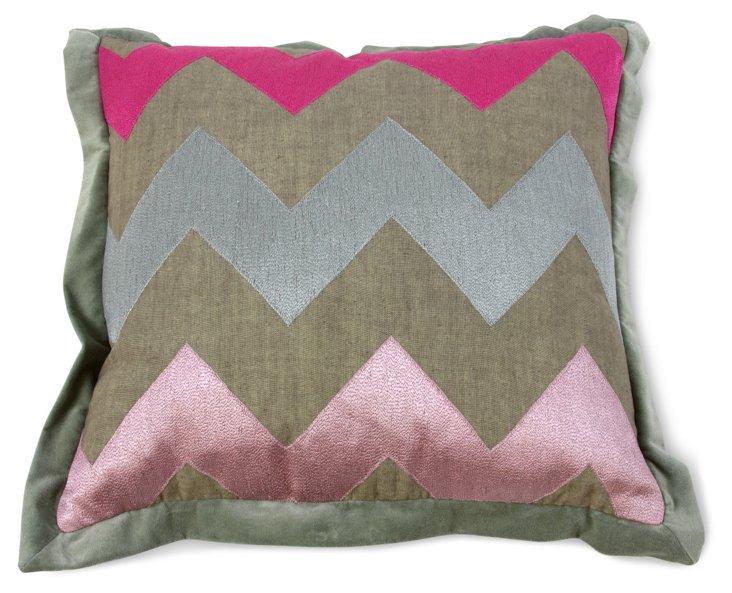 Schultz Pillow, Pink
