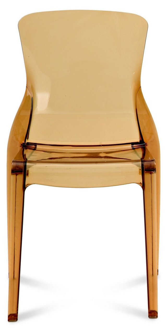 Crystal Chair, Amber