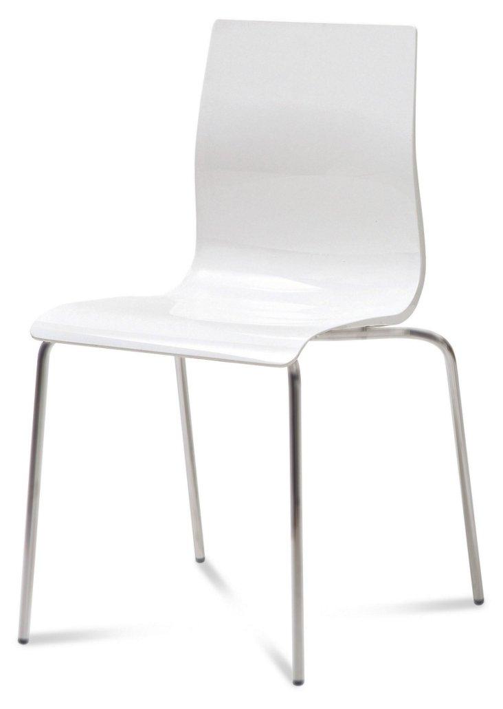 Oscar Chair, White