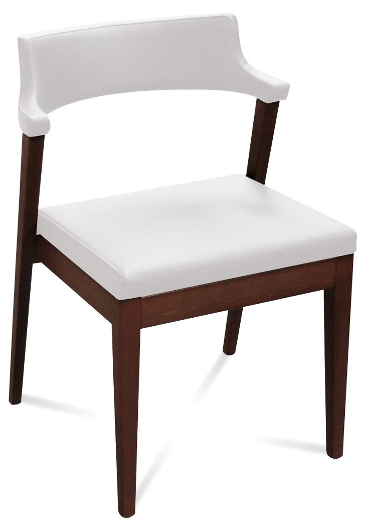 Lyra Chair, Wenge/White
