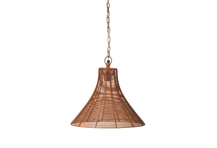 Clive Hanging Pendant, Rust