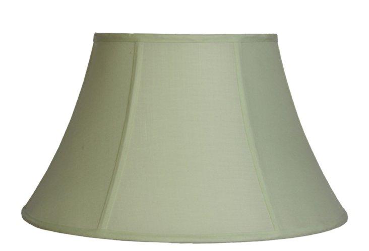 Medium Bell Shade, Light Green Linen