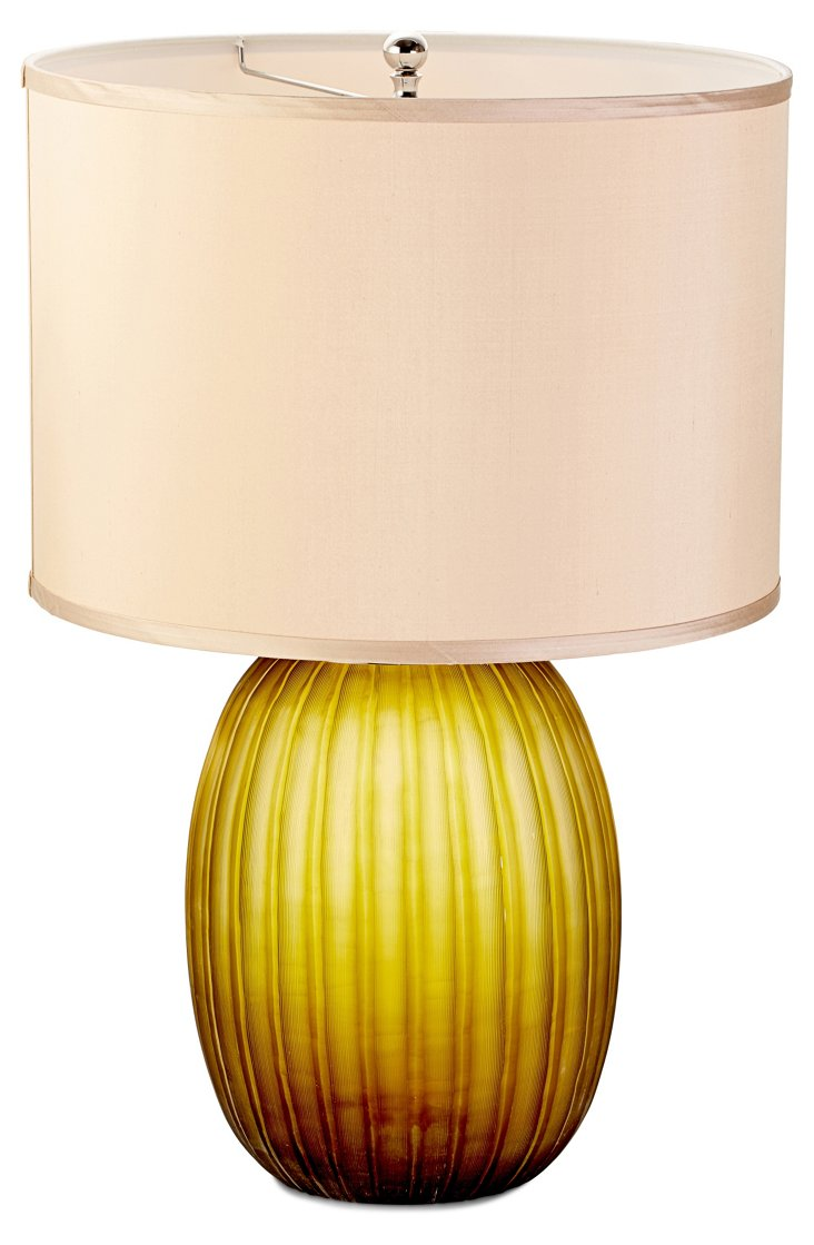 Eastham Olive Table Lamp
